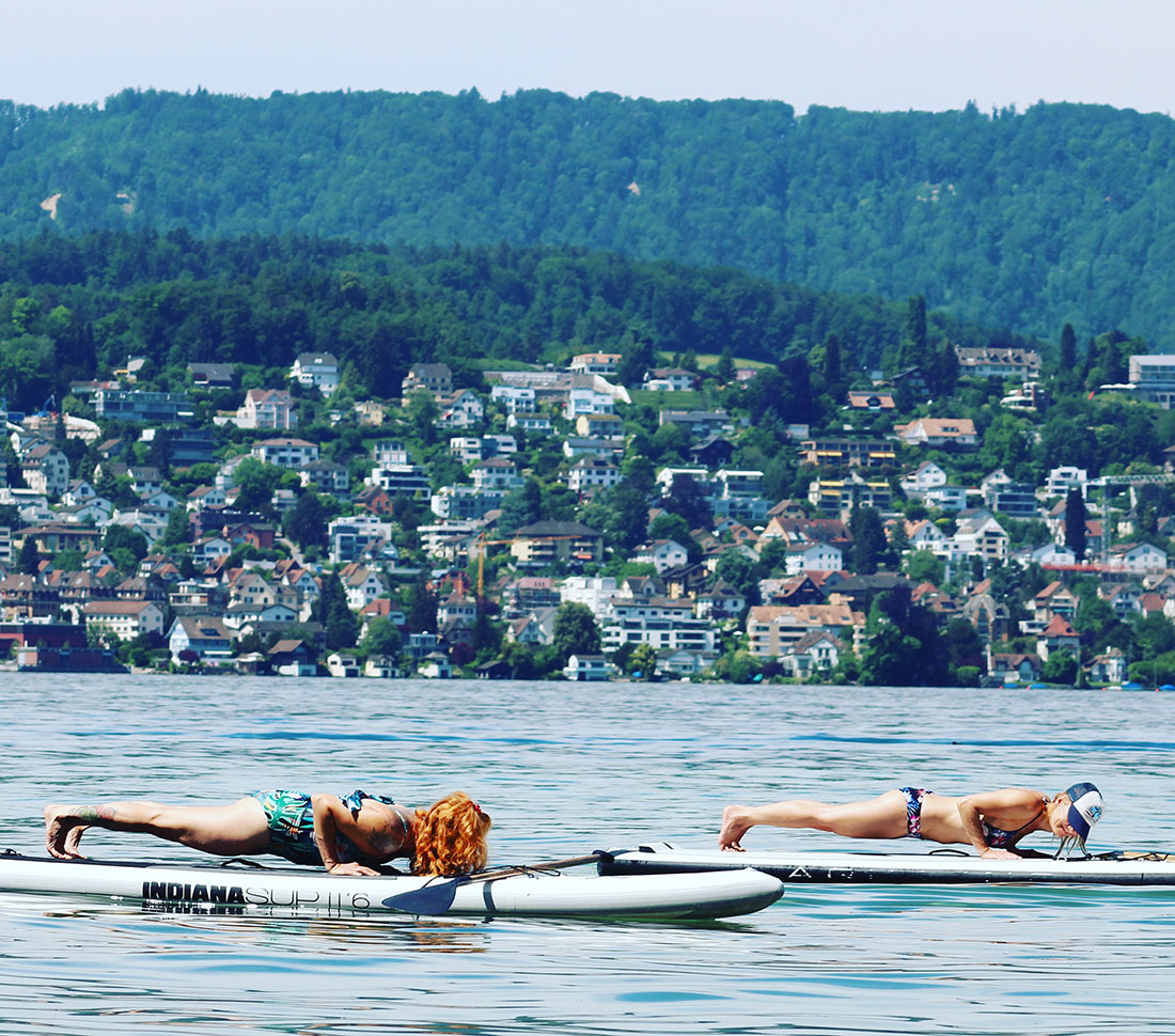 SUP Yoga Zürich | Yoga | Rückenyoga | thegoldendrop.me