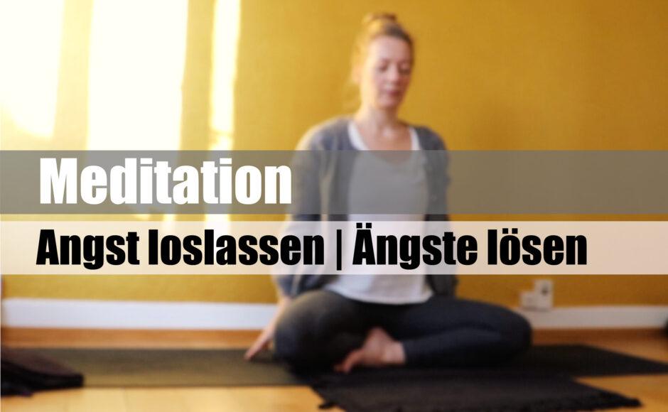 Titelbild | Angst loslassen | Deine Ängste lösen | geführte Meditation | deutsch |thegoldendrop.me