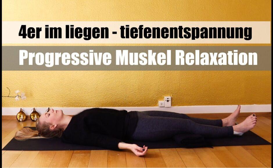 Titelbild Progressive Muskelrelaxation | 4er im Liegen | deutsch