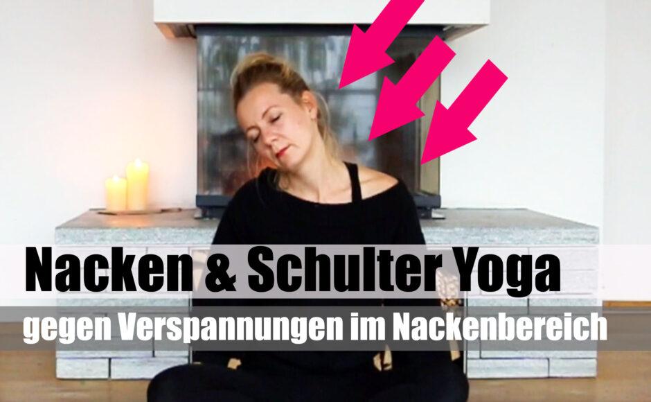 Yoga für Nacken & Schultern - gegen Verspannungen - deutsch