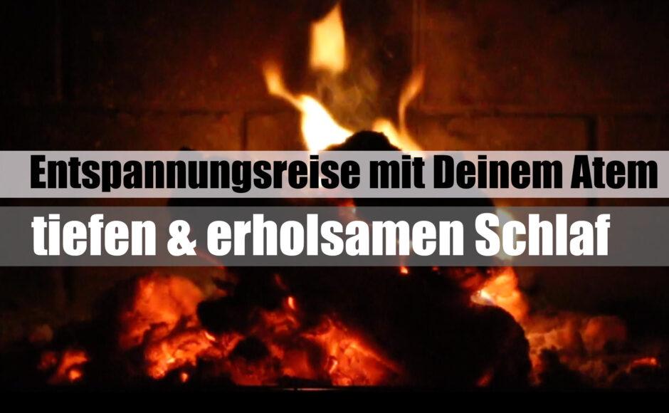 Titelbild | Entspannungsreise mit Atmen für tiefen & erholsamen Schlaf | besser Schlafen | deutsch
