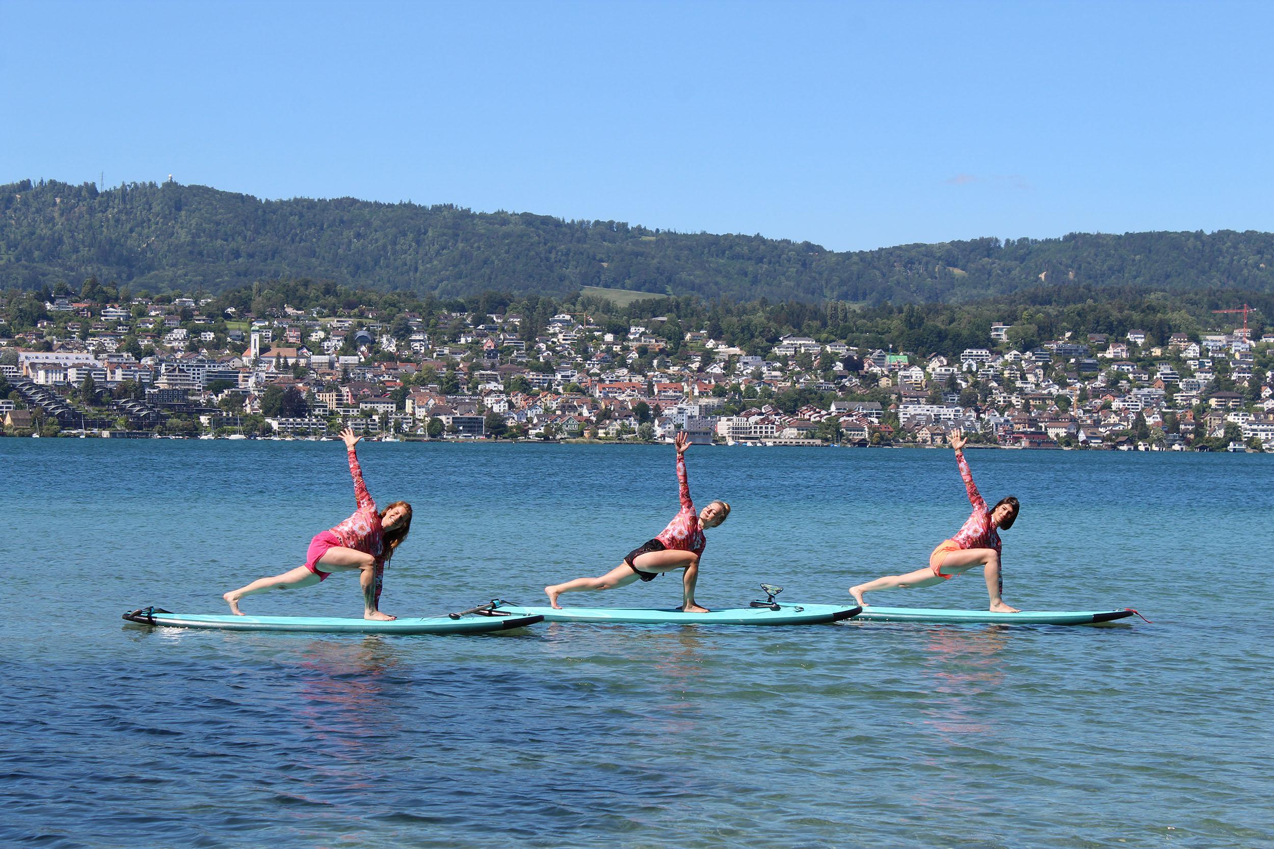 Beitragsbild SUP Yoga Zürich   the golden drop   die Achtsamkeitsschule Zürich